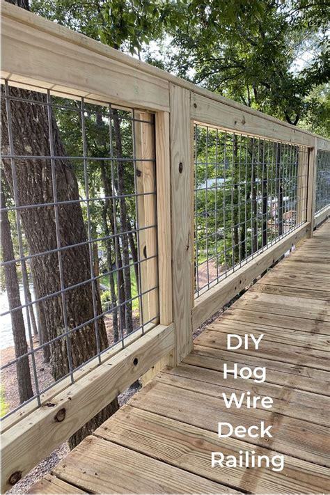Build Deck Railing Wire Fence