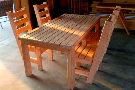 Build Deck Table And Chairs