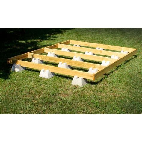 Build Deck With Handi Blocks Lowes