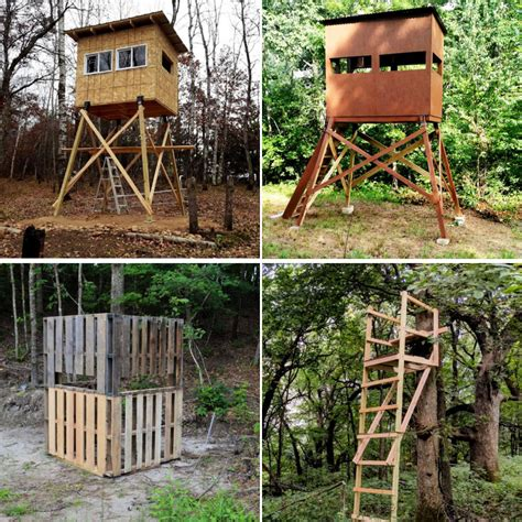 Build Deer Blind Plans Free