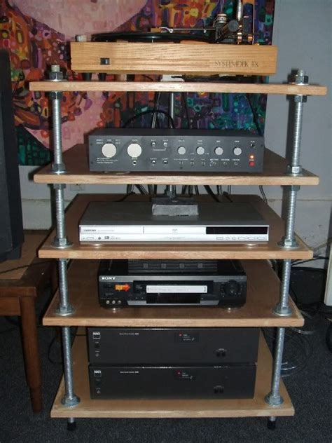 Build Diy Stereo Cabinet