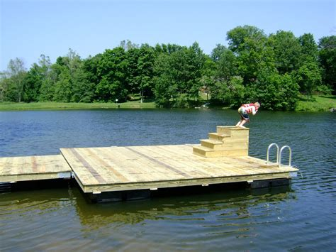 Build Floating Deck Water