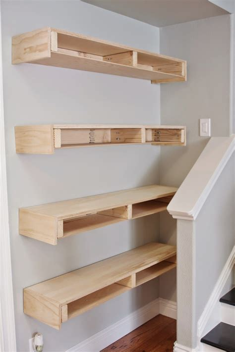 Build Floating Shelves Easy