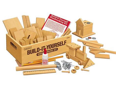 Build It Yourself Woodworking Kit For Kids