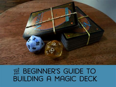 Build Magic The Gather Decks