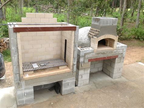 Build Outdoor Wood Burning Grill