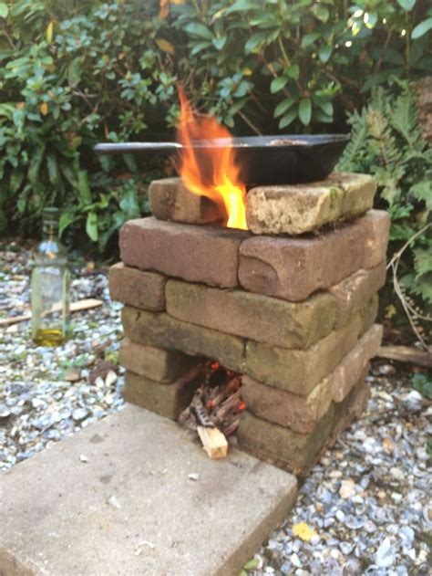 Build Outdoor Wood Stove Cooking