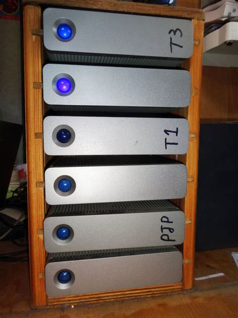 Build Own Hard Drive Rack