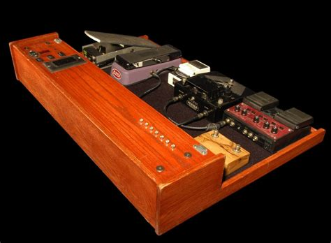 Build Pedalboard Wood