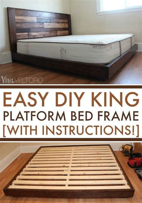 Build Platform Bed Frame Instructions