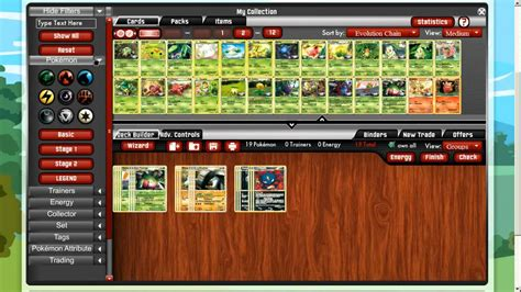 Build Pokemon Tcg Online Deck Builder