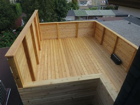 Build Porch Deck Supporting Roof With Cedar