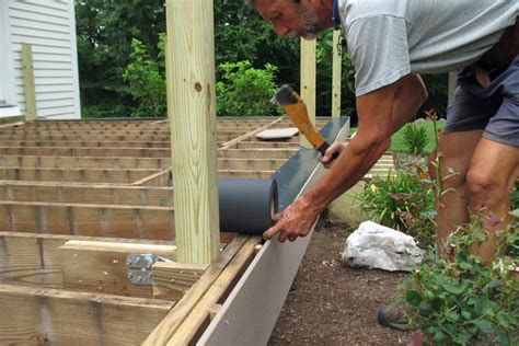 Build Porch Deck Supporting Roof Youtube Movies