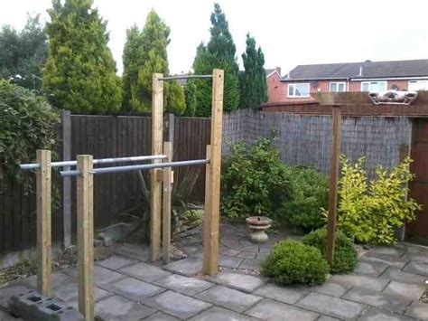 Build Pull Up Bar Off Deck Patio