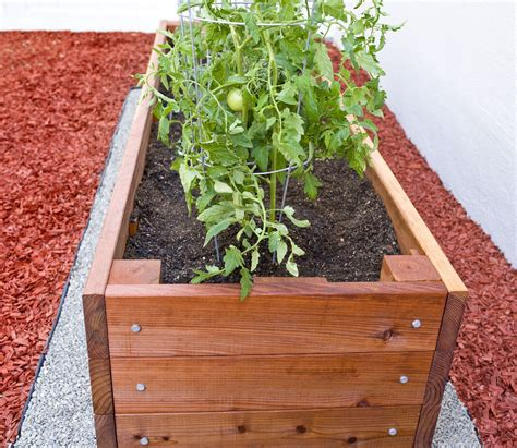 Build Redwood Planter Box