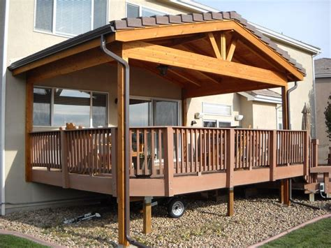 Build Roof Over Deck Easy Spirit