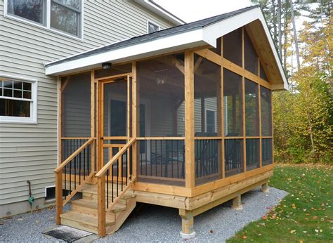 Build Screened In Porch Existing Deck