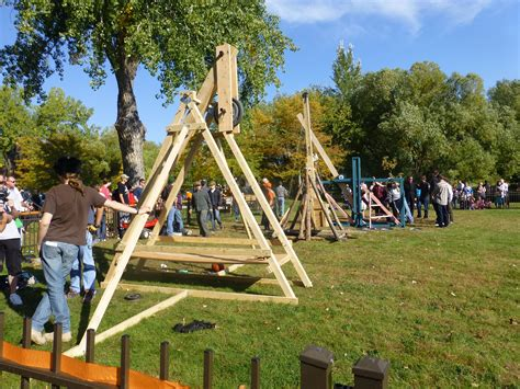 Build Trebuchet Pumpkin Launcher