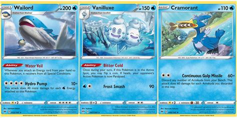Build Water Deck Pokemon Tcg Sets