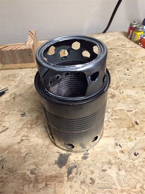 Build Wood Burning Backpacking Stove