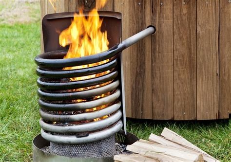 Build Wood Fired Hot Tub Heater