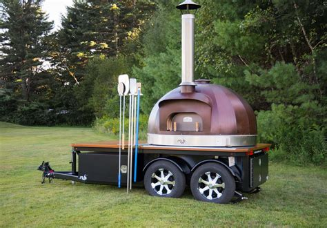 Build Wood Fired Pizza Oven Trailer