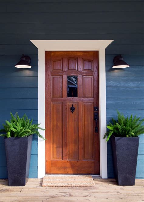 Build Wood Front Door