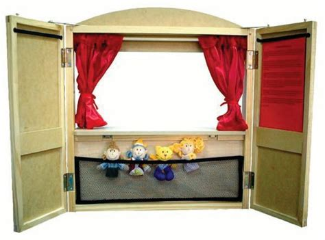 Build Wooden Puppet Stage Plans