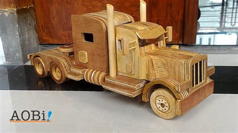 Build Wooden Toy Fire Truck Youtube
