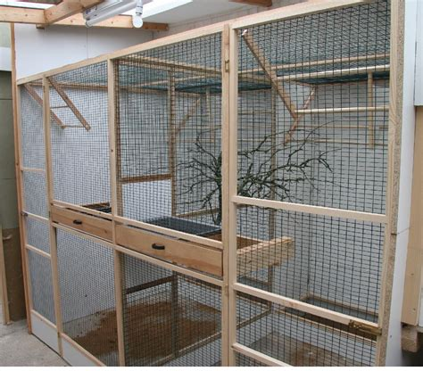 Build Your Own Bird Cage Plans