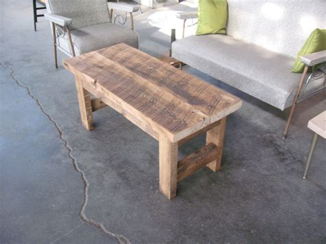 Build Your Own Coffee Table Plans