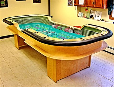 Build Your Own Craps Table