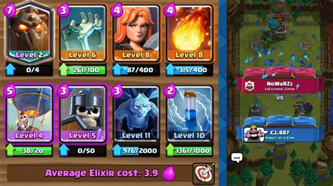 Build Your Own Deck Clash Royale With Lava