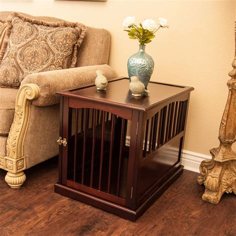 Build Your Own Dog Crate End Table