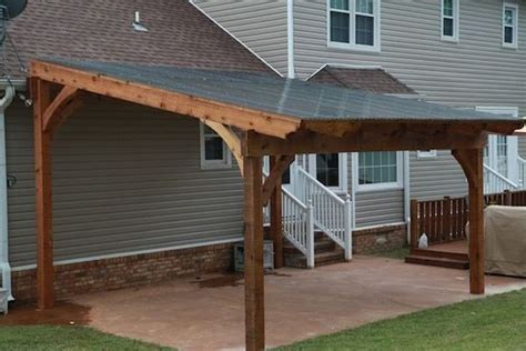 Build Your Own Free Standing Deck With Roof