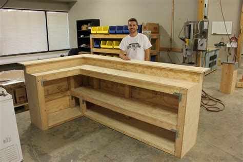 Build Your Own Garage Bar Plans