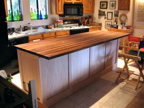 Build Your Own Kitchen Island Using Cabinets