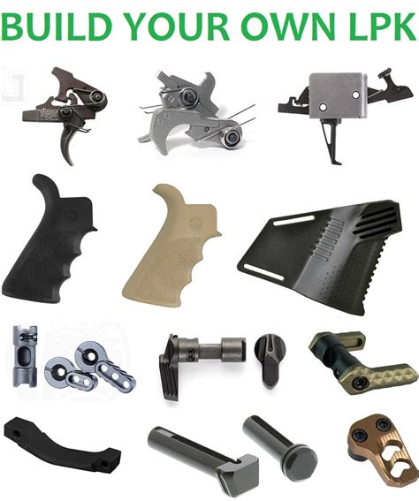 Build Your Own Lpk - Custom Ar15 Lower Parts Kit.
