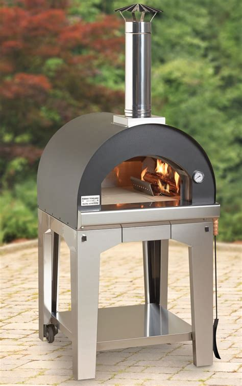 Build Your Own Outdoor Wood Burning Pizza Oven