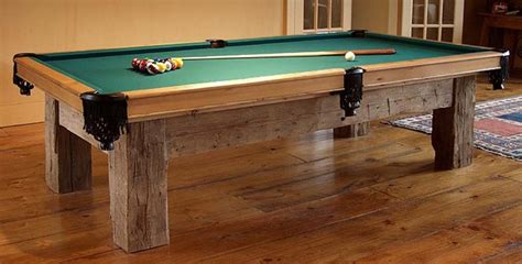 Build Your Own Pool Table Plans