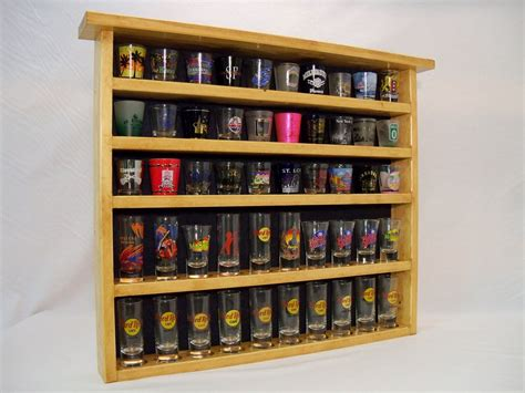 Build Your Own Shot Glass Display Case