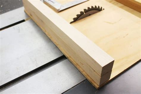 Build Your Own Table Saw Sled Design