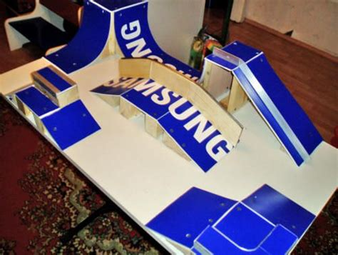 Build Your Own Tech Deck Skatepark Out Of Box