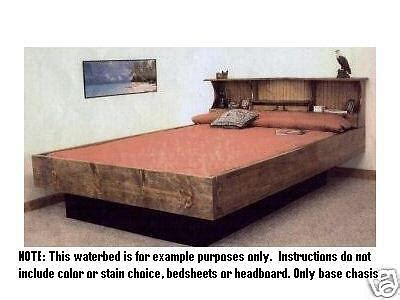 Build Your Own Waterbed Frame Plans