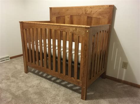 Build-A-Crib-With-Woodwork-Plans