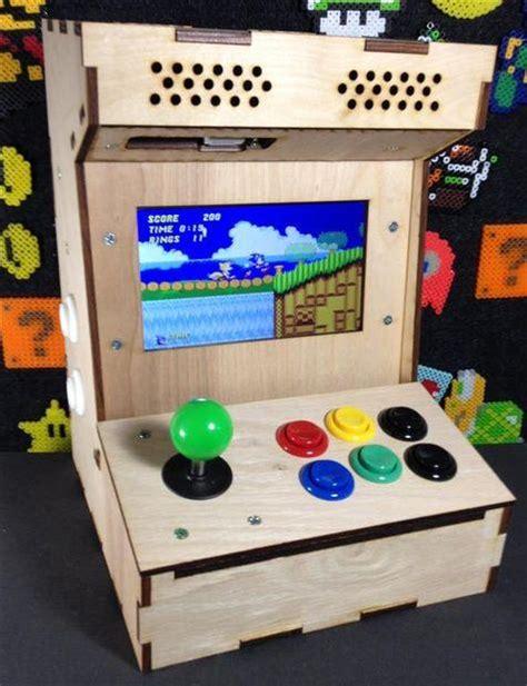 Build-A-Game-Console-Cabinet-Diy-Raspberry-Pi