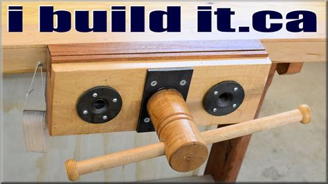 Build-A-Woodworking-Bench-Vise