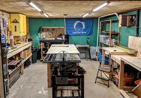 Build-Basement-Woodworking-Shop