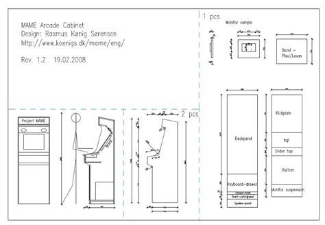 Build-Mame-Cabinet-Plans
