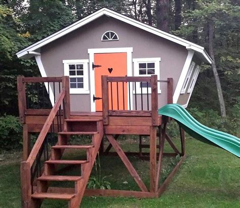 Build-Outdoor-Playhouse-Plans
